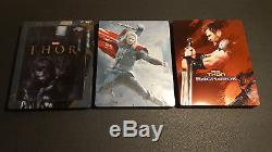 17 Marvel Blu-ray Steelbook (avengers, Thor, Iron Man, Capt America, Hulk, Logan)