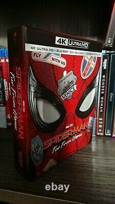 21/23 Bluray Marvel Infinity Saga Steelbook And Standard (see Description!)