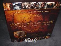 30 Blu-ray DVD New The Hobbit The Lord Of The Rings The Trilogies Collector