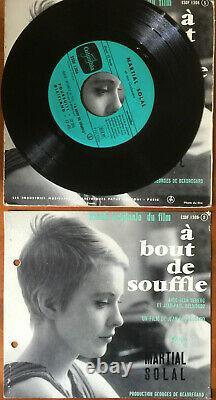 A Souffle 45 Vinyl Towers Belmondo, Seberg, Godard