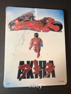 Akira Limited Edition Steelbook (blu-ray-dvd) Nine