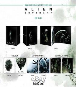 Alien Covenant Manta Exclusive Lab # 010 Steelbook Boxset One Click
