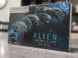 Alien The Complete Box 6 Films Collector's Edition Blu-ray + Goodies Collector