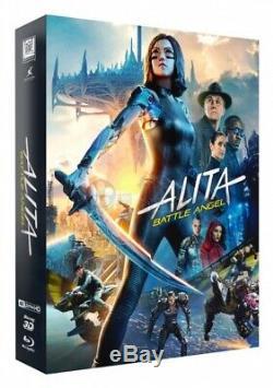 Alita Battle Angel 4k Steelbook Edition Dual Fullslip Lenti Black Baron # 21