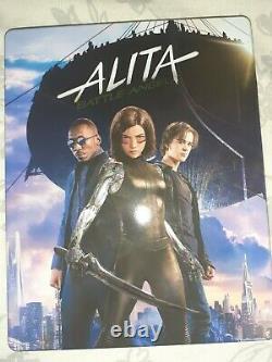 Alita Battle Angel Double Lenticular Edition Steelbook Filmarena Black Barons