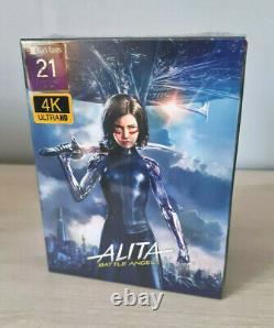 Alita Battle Angel Filmarena Black Barons Fullslip Bluray 4k Steelbook
