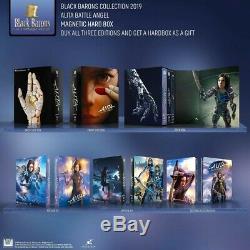 Alita Battle Angel Filmarena One Click Box (steelbook) Black Barons Pre-order