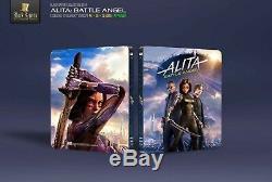 Alita Battle Angel Steelbook Edition 4k Fullslip Black Baron # 21