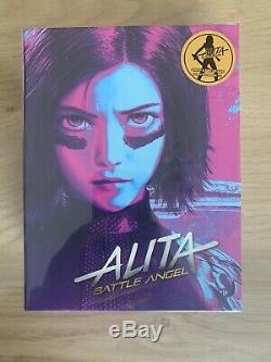 Alita Blufans Steelbook Box New Sealed