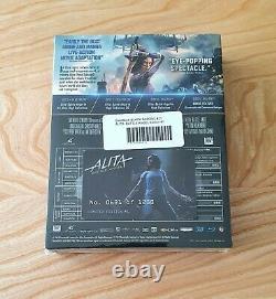 Alita Steelbook Collector Full Slip XL Black Barons #21 Neuf