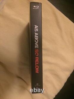 As Above So Below Blu-ray Steelbook Fullslip Filmarena Fac / Unnumbered