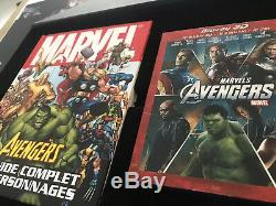 Avengers Box Collector Fnac 735/1000 Bluray 3d Eaglemoss