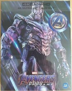 Avengers Endgame A1 Fullslip(4k Uhd+2d+bonus Disc)steelbook Weet New