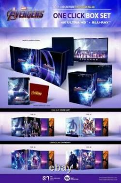 Avengers Endgame Blu-ray 4k-2d Steelbook Weet Collection One-click 1-click Nine