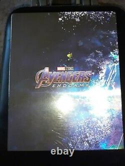 Avengers Endgame Weet Steelbook 1-click One Click New