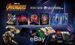 Avengers Infinity War One Click Blufans # 50 Exclusive Steelbook Mint & Sealed