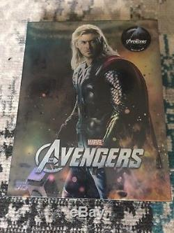 Avengers Steelbook Blu Ray Novamedia Fullslip Edition (thor Cover) Sealed