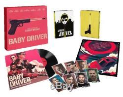 Baby Driver French Limited Box Set DVD Edition Bluray Vinyl 2lp Steelbook