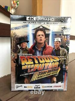 Back To The Future 4k Steelbook, Sealed