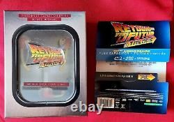 Back To The Future Collector Flux Capacitor Blu-ray DVD Box Trilogy
