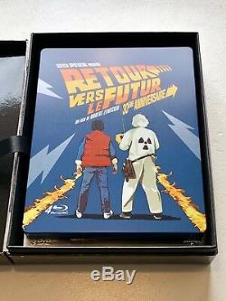 Back To The Future Stream Capacitor Blu-ray Steelbook Edition Back To The Future