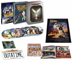 Back To The Future Trilogy Collector Box Flux Capacitor New Blu-ray DVD