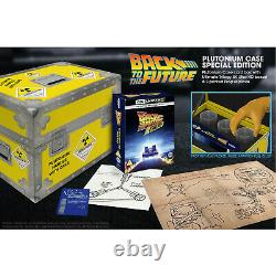 Back To The Future (retour Vers Le Futur) 4k Uhd Plutonium Collector Edition