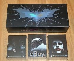 Batman Begins / Dark Knight / Dark Knight One Click Rises + Motherbox Hdzeta