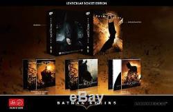 Batman Begins / Dark Knight / Dark Knight Rises Edition One Click Hdzeta Sold Out
