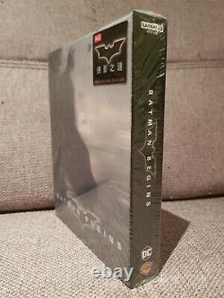 Batman Begins Hdzeta Steelbook Full Slip Single Lenticular 4k Gold Label