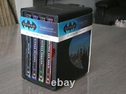 Batman Blu-ray 4k Steelbook - Shelf Complete 4 Movie Collection 1989-1997