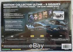 Batman The Dark Knight Box Trilogy Blu-ray Collector's Edition New
