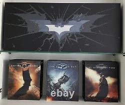 Batman The Dark Knight Hdzeta Trilogy Box + Mother Box