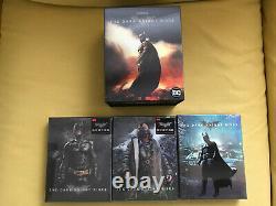 Batman The Dark Knight Trilogy 4k Uhd Hdzeta Steelbook Boxset Motherbox