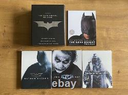 Batman Trilogy Boxset Steelbooks The Dark Knight Amazon Japan