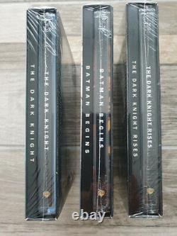 Batman Trilogy The Dark Knight Hdzeta Lenticular (neuf And Sealed)