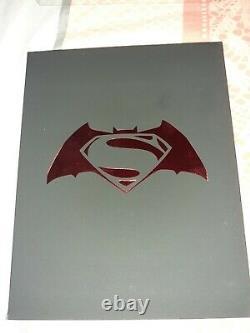 Batman V Superman Dawn Of Justice Hdzeta Double Lenticular Edition Steelbook