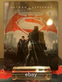 Batman V Superman Hdzeta Exclusive 4k Lenticular Slip Steelbook Super Rare