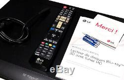 Bdt-590 Lg Bluray DVD Player Recorder Wifi Dlna Stream Usb Dvb-t Rec Mkv Hd