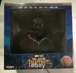 Black Panther Box Limited Edition Exclusive Collector Amazon. Fr 4k Blu-ray