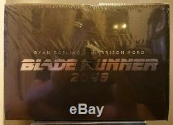 Blade Runner 2049 + 4k 3d Bluray Steelbook Collector Box Blaster Fnac New