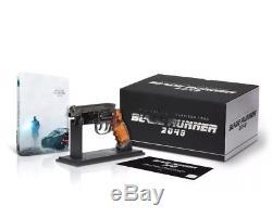 Blade Runner 2049 Steelbook Special Edition Fnac 4k + 3d + 2d + Blaster