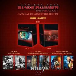 Blade Runner One Click Boxset 3x Fulllslip Steelbook Edition Mantalab New