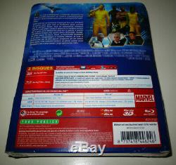 Blu Ray 3d + 2d + Booklet 96 Pages The Guardians Of The Galaxy Steelbook Fnac New