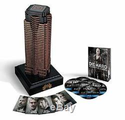 Blu Ray Die Hard Nakatomi Plaza Collection 11 (english / Italian) New #