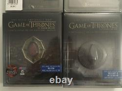 Blu Ray Games Of Thrones Integral Edition Steelbook Collector Vf New