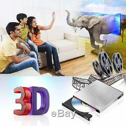 Blu Ray Player 4k External DVD Burner Portable CD Usb 3.0 2.0 Mac Windows Pc