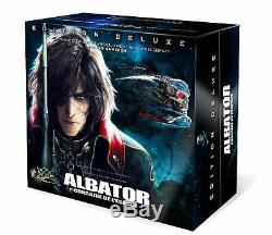Blu Ray Space Pirate Captain Harlock Numbered Collector's Edition Figurine Nine