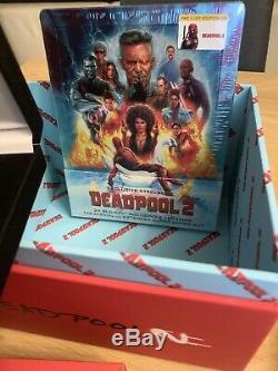Blu Ray Steelbook Deadpool 2 Filmarena + Box + Goodies