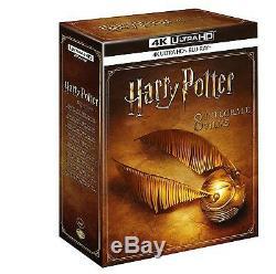 Blu-ray 4k Ultra Hd The Ultimate Harry Potter 8 Films New Under Blister